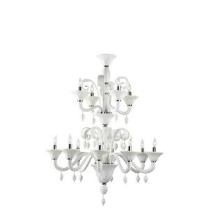 Treviso - Twelve Light 2-Tier Chandelier - 33 Inches Wide by 42.5 Inches High