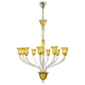 Vetrai - Ten Light Chandelier