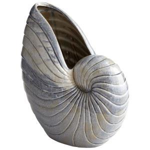 Rippled Shell - 17.25 Inch Large Vase
