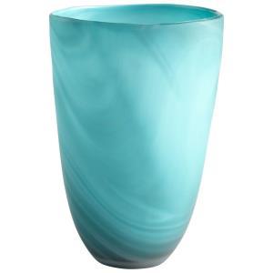 Sea Swirl - 11.25 Inch Small Vase