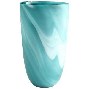 Sea Swirl - 14.25 Inch Large Vase