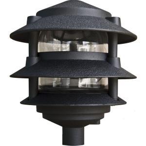 "6"" 4W 72 LED 3-Tier Pagoda Light with 0.5"" Base"