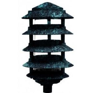 "Pagoda Fix 5Tier 10""Top 1/2""Base 5.8W 72Leds 120V"
