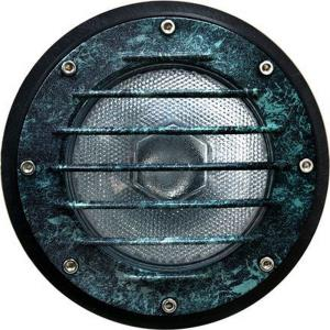 "10.5"" In-Ground Well Light With Grill"