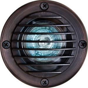 Solid Brass W/Grill Well Light 20W 12V