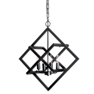 Four Light Adjustable Pendant
