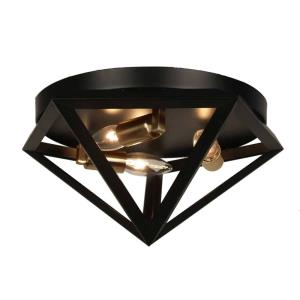 Archello - Three Light Flush Mount