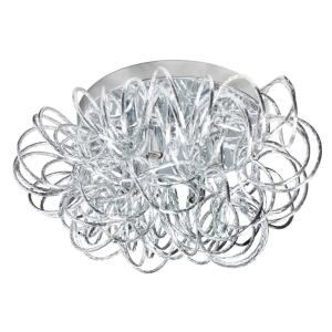 Baya - Four Light Tubular Flush Mount