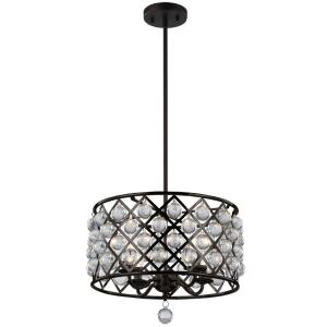 Cresfield - Four Light Chandelier