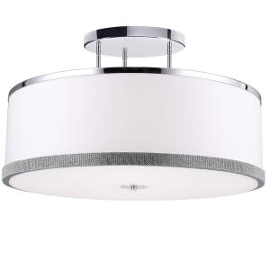 Devonshire - Five Light Semi-Flush Mount