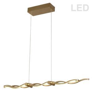 """Florence - 40"""" 45.9W 3 LED Horizontal Pendant"""