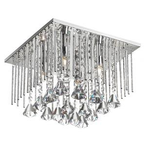 Jacqueline - Four Light Square Flush Mount