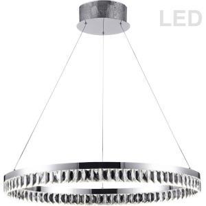 """Kimberly - 31"""" 57W 1 LED Round Pendant"""