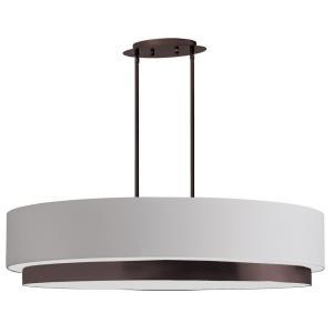 Larkin - Four Light Oval Pendant