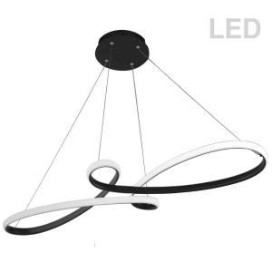 "Nola - 43.5"" 50W 1 LED Horizontal Pendant"