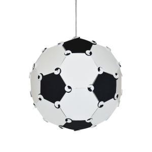 One Light Soccer Ball Pendant