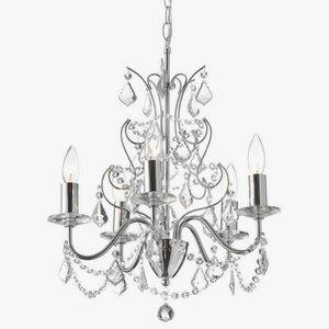 Vanessa - Five Light Chandelier