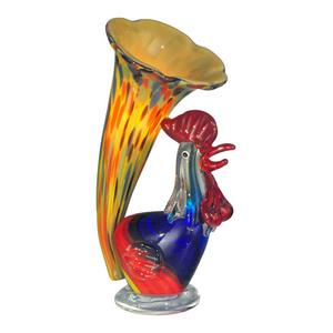 Rooster Lily Favrile - One Light Accent Lamp