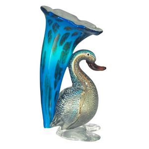 Duck Lily Favrile - One Light Accent Lamp