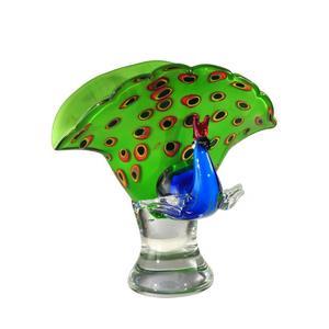 """Peacock - 10.25"""" Decorative Figurine"""
