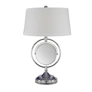 Contessa - One Light Table Lamp with Mirror