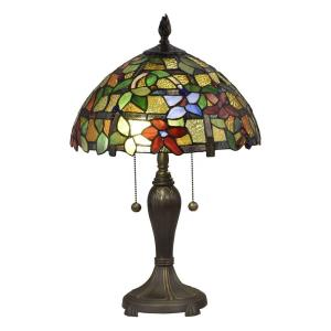 Valencia Floral - Two Light Table Lamp
