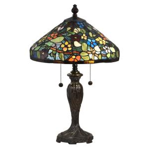 Southern Floral - Two Light Table Lamp
