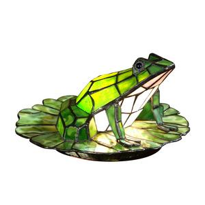 Tiffany - One Light Frog Lily Pad Accent Lamp