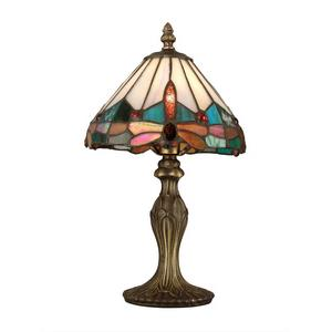 Tiffany - One Light Jewel Dragonfly Accent Lamp