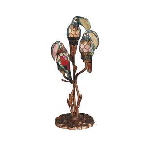 Three Parrots - Three Light Table Lamp