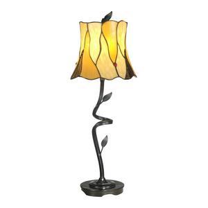 Twisted Leaf Tiffany - One Light Buffet Lamp