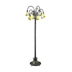 Twelve Light Floor Lamp