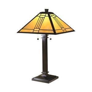 Noir Mission - Two Light Table Lamp