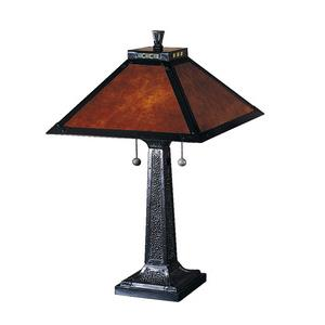 Mica Camelot - Two Light Table Lamp