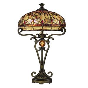 Briar Dragonfly - Two Light Table Lamp