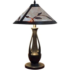 Spring Leaves - Two Light Table Lamp