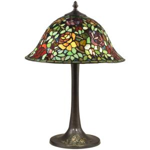 Garden Rose - Two Light Table Lamp