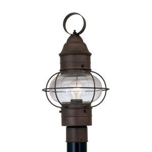 Nantucket - One Light Outdoor Onion Post Lantern