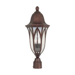 Berkshire - Three Light Outdoor Post Lantern