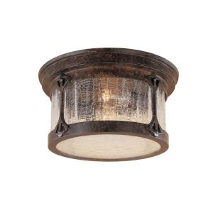 Canyon Lake - Two Light Outdoor Flush Mount