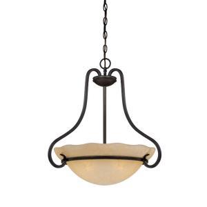 Lauderhill - Three Light Inverted Pendant