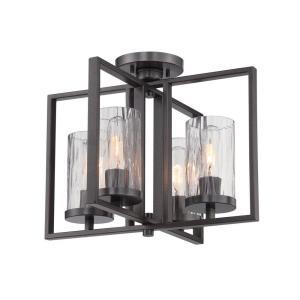 Elements - One Light Semi-Flush Mount