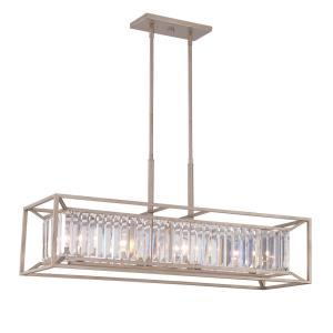 Linares - Four Light Linear Chandelier