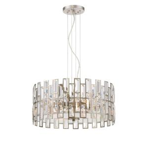 West 65th - Four Light Inverted Pendant