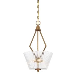 Montelena - Three Light Inverted Pendant