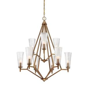 Montelena - Nine Light 2-Tier Chandelier