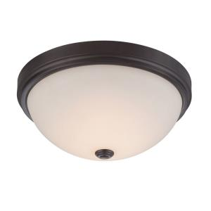"Hopkins - 13"" 21W LED Medium Flushmount"
