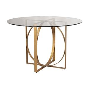 "Ludwik - 48"" Box Rings Entry Table"
