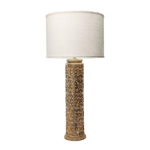 Fluer De Lis - One Light Table Lamp