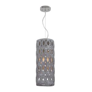 Pierced Grey - One Light Large Pendant
